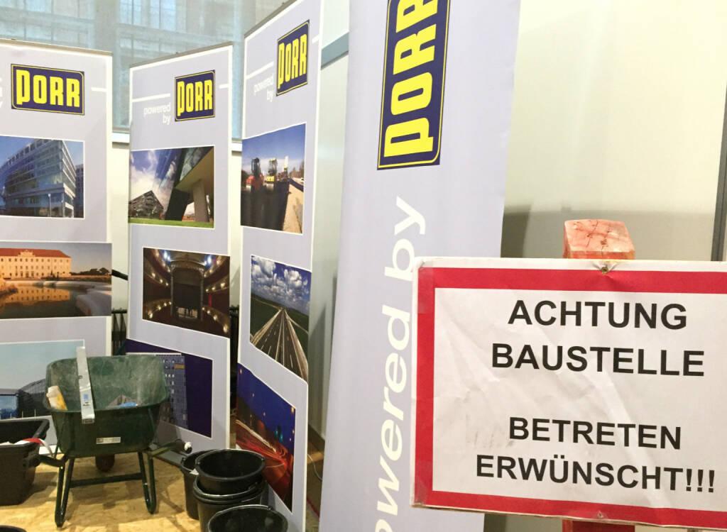 Porr Baustelle (02.11.2014)