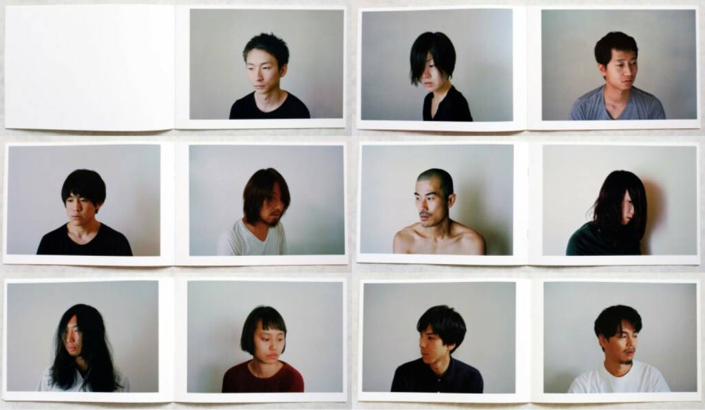 Yosuke Yajima - Portrait, Self published 2013, Beispielseiten, sample spreads - http://josefchladek.com/book/yosuke_yajima_-_portrait, © (c) josefchladek.com (03.11.2014)