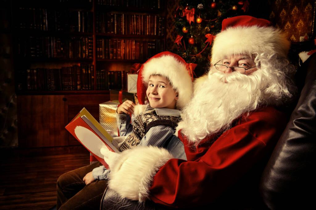 Santa Claus, Weihnachten, Nikolo, http://www.shutterstock.com/de/s/santa+claus+mit+kind/search.html, © www.shutterstock.com (05.11.2014)