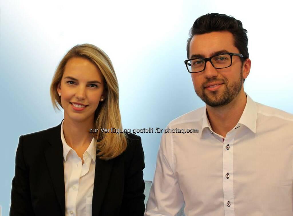 Patrizia Trainees 2.0. Mit Nina Munk und Sebastian Zukowski hat im Oktober die zweite Generation von Management Trainees bei PATRIZIA in Augsburg begonnen. Wir wünschen viel Erfolg!  Source: http://facebook.com/patriziaimmobilien, © Aussendung (05.11.2014)