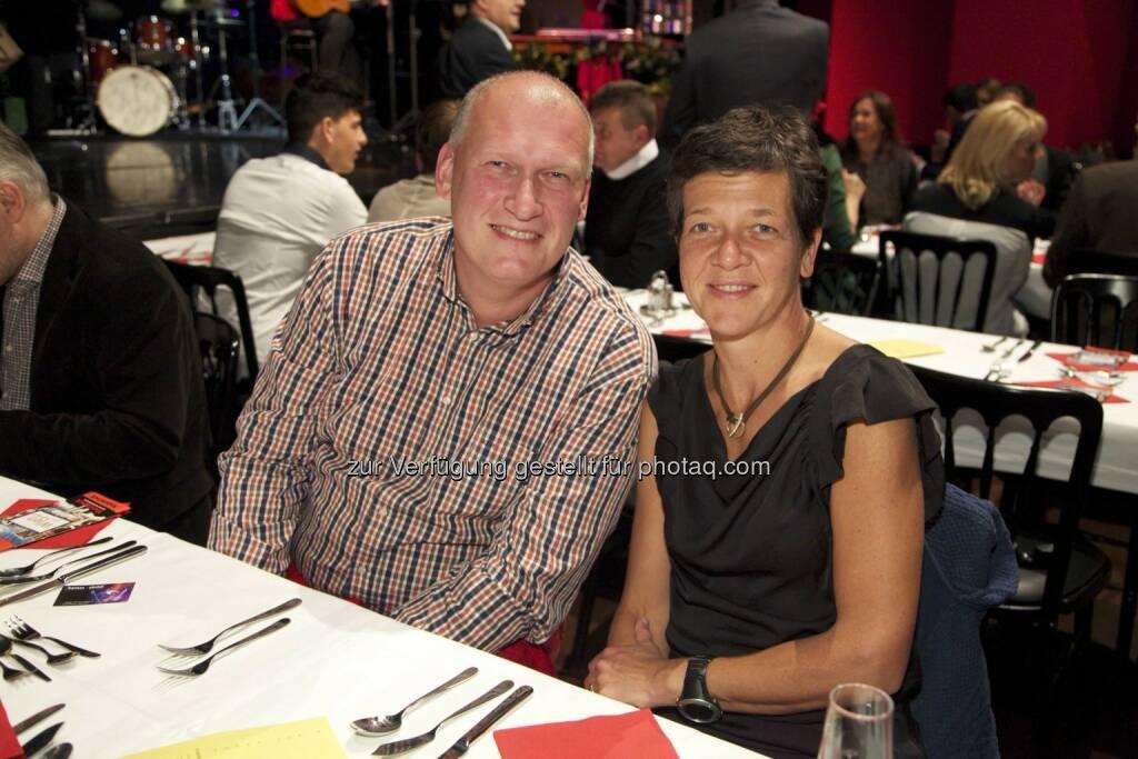 Cafetier Berndt Querfeld, Unternehmerin Irmgard Querfeld, © leisure.at/Arman Rastegar (07.11.2014)
