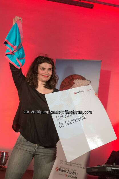 Hanna Lisa Kunyik gewinnt Ö1 Talentestipendium, (C) Helmut Graf, © Aussendung (08.11.2014)
