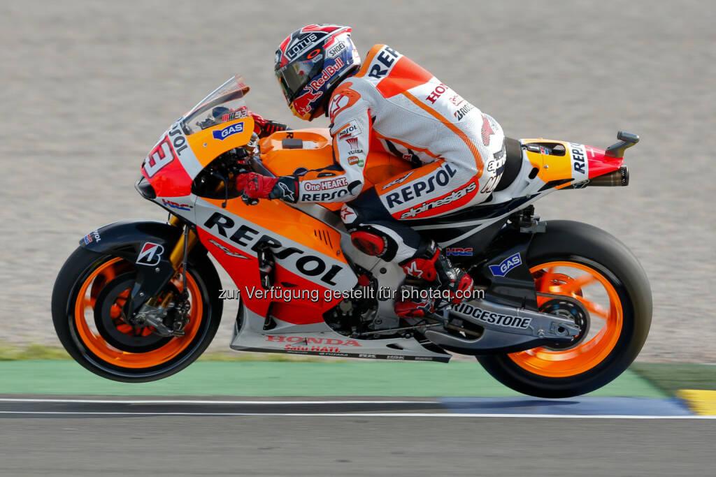 Motorrad, Speed, Red Bull GmbH: Die MotoGP kommt zurück nach Österreich, Marc Marquez © Red Bull, © Aussendung (09.11.2014)