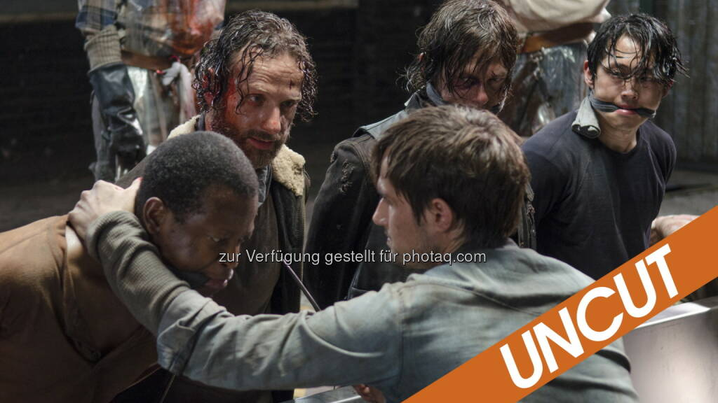 The Walking Dead: Fox International Channels: FSF-Entscheidung revidiert: Fox darf zensierte The Walking Dead-Staffelpremiere nun doch Uncut im deutschen TV zeigen, (C) obs/Fox International Channels/Gene Page / AMC / Fox International Channels Germany, © Aussendung (11.11.2014)