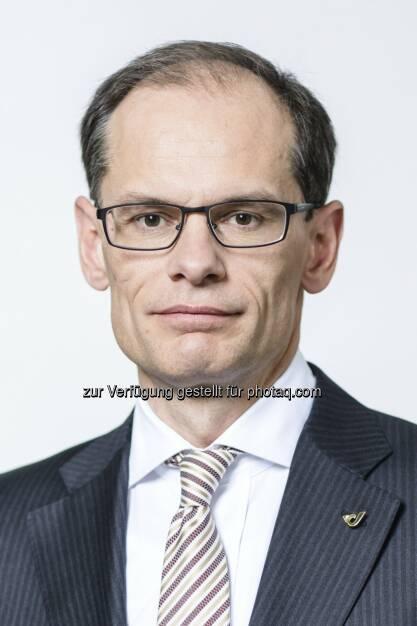 Walter Oblin als Finanzvorstand der Österreichischen Post AG  wiederbestellt, © Aussender (11.11.2014)