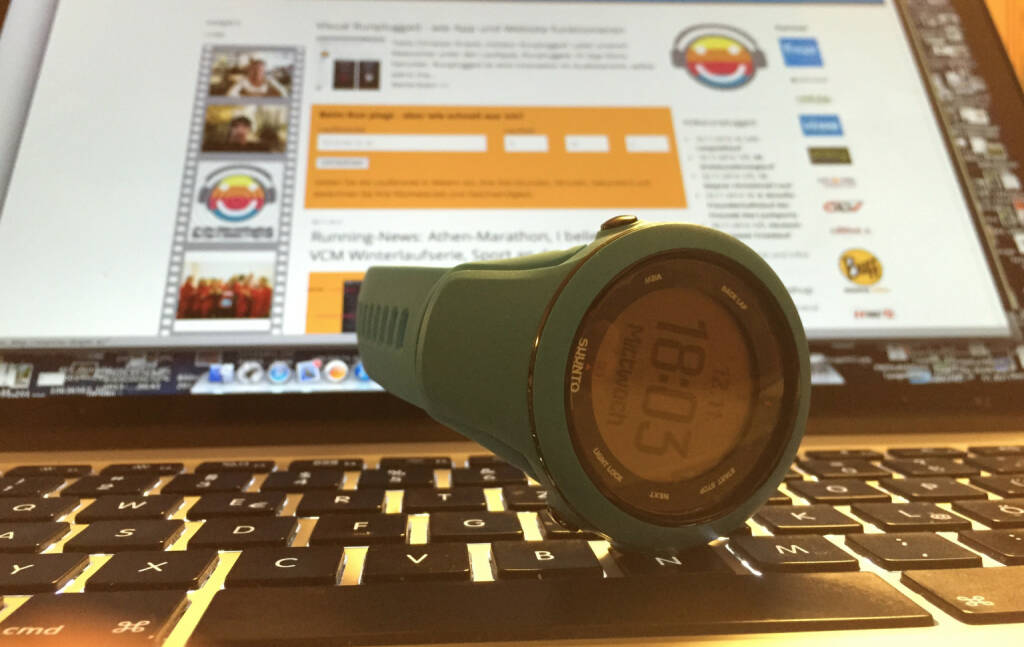 Suunto-Uhr, Runplugged-Website - ein Test, © Diverse  (12.11.2014)
