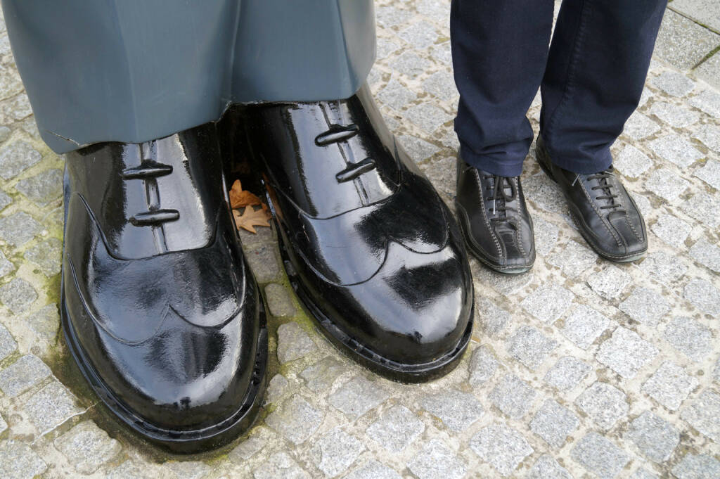 Schuhe Grössen Gross Klein (12.11.2014)