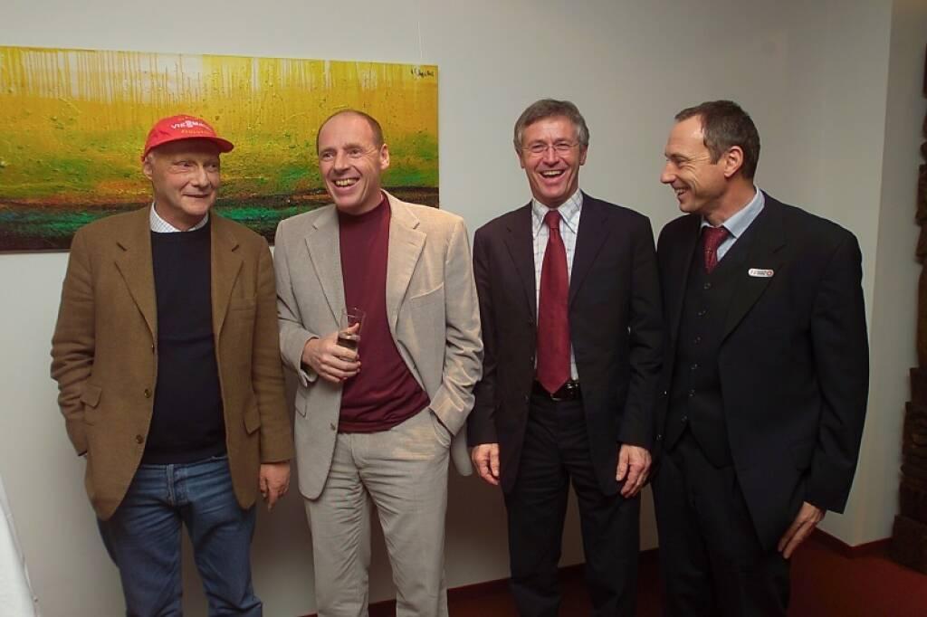 Niki Lauda, Harti Weirather, Toni Schutti (17.11.2014)