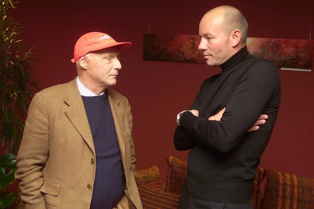 Niki Lauda,  Manfred Bodner (bwin) (17.11.2014)