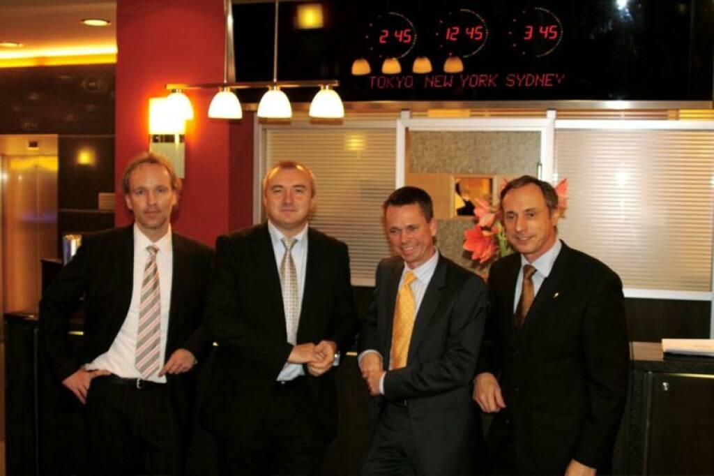 Veranstalter: Christian Drastil, Martin Bredl (Telekom), Harald Himmer, Toni Schutti (17.11.2014)
