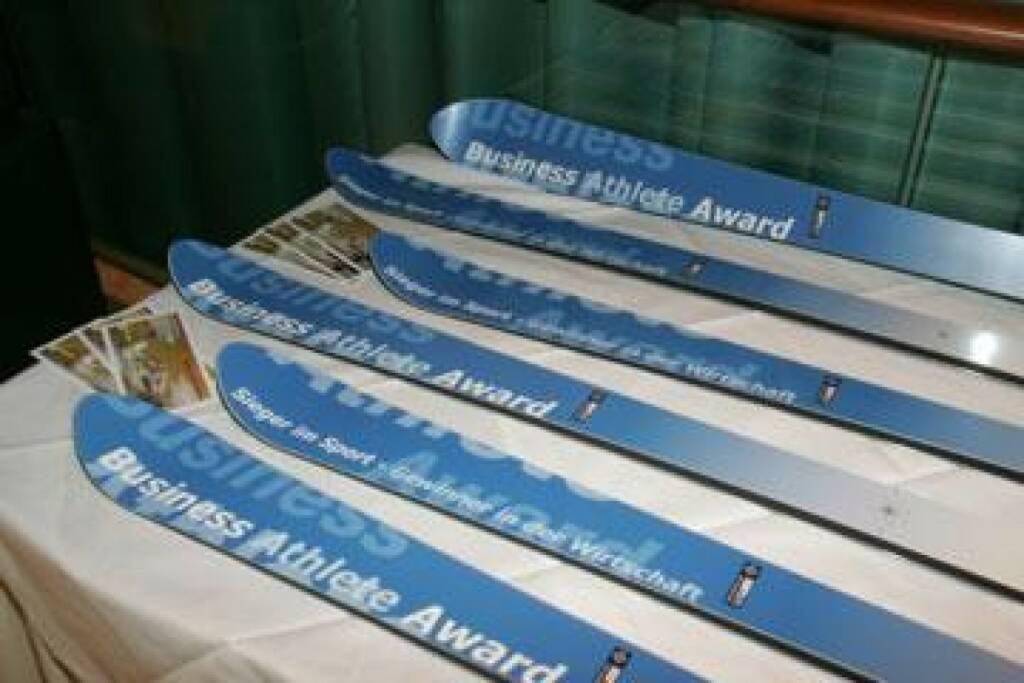 Business Athlete Award Skier (17.11.2014)