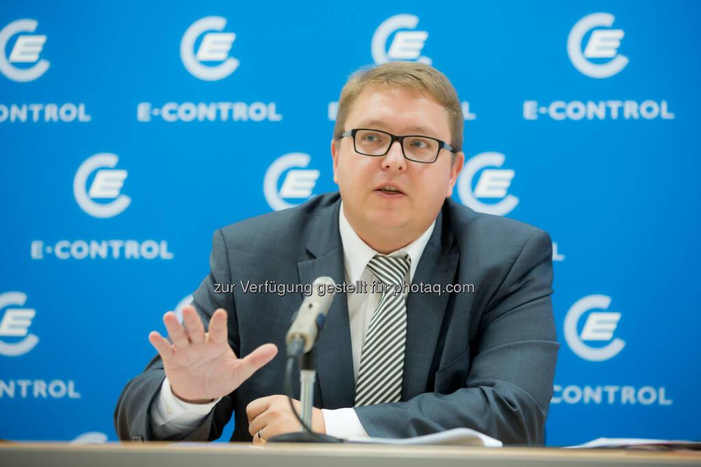 E-Control-Vorstand Martin Graf: Industrie hat von Strommarktliberalisierung vor 15 Jahren stark profitiert, © Aussendung (18.11.2014)
