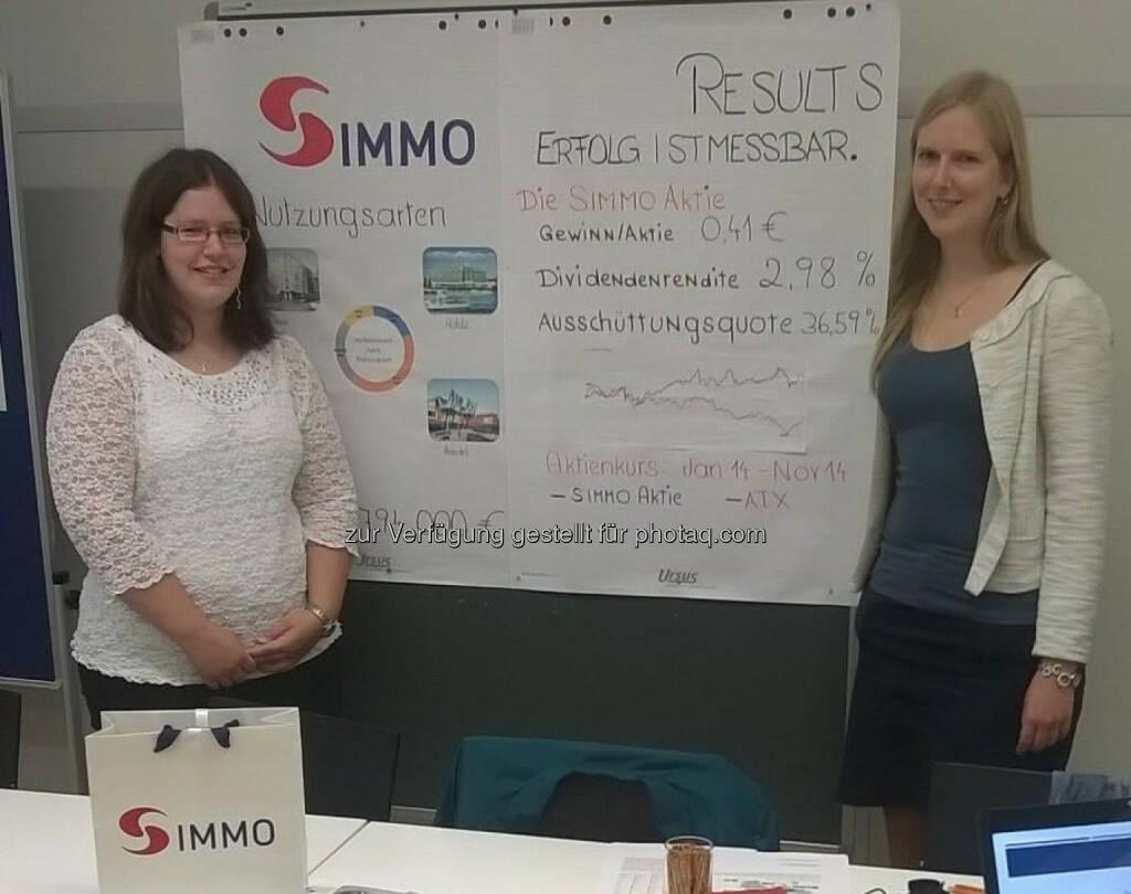 S Immo: Wir sind begeistert: LV Jahresabschlussanalyse @fhkrems präsentierte Ergebnisse zu @simmoag bei eigener Roadshow (18.11.2014)