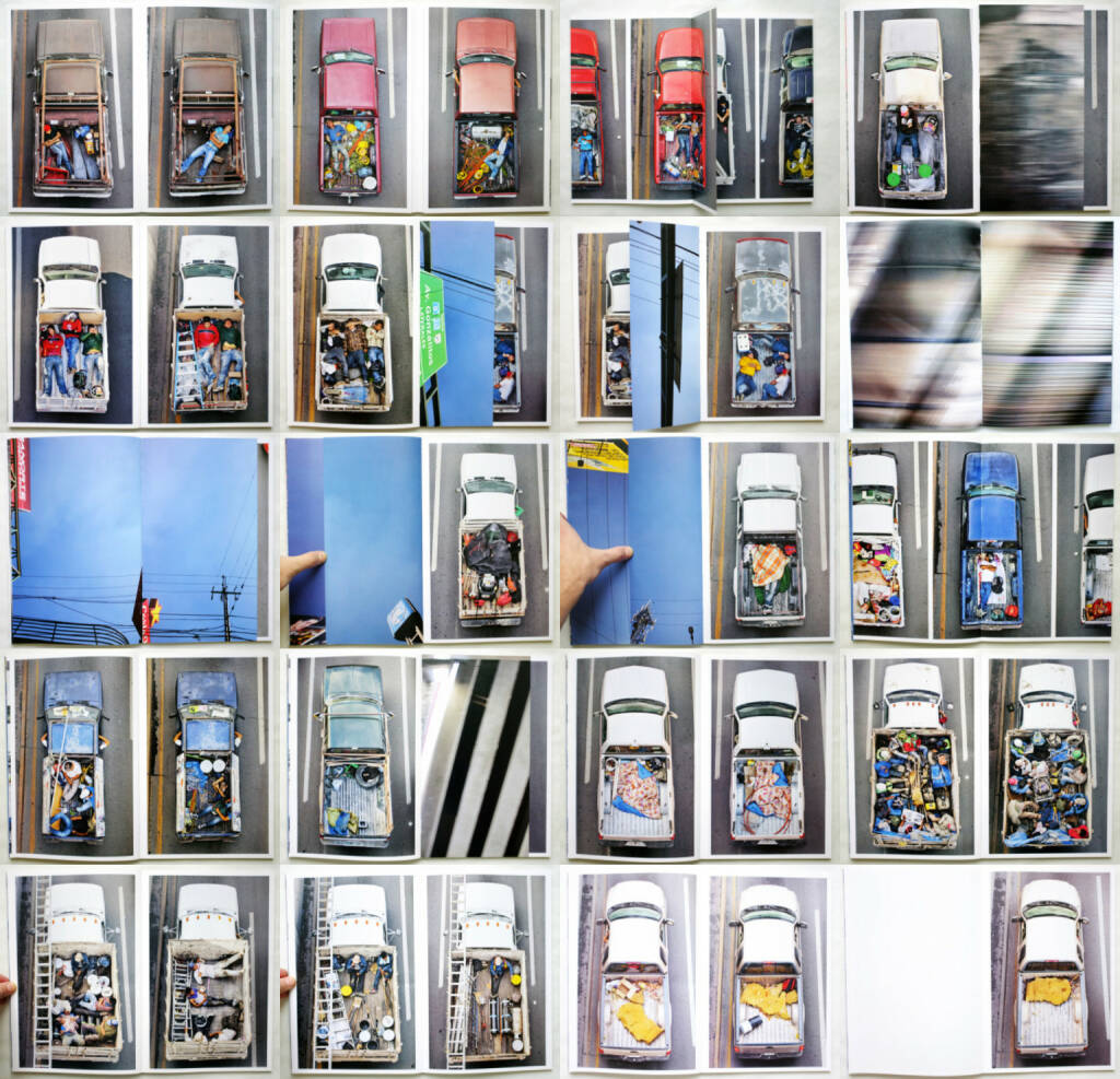 Alejandro Cartagena - Carpoolers, Self published 2014, Beispielseiten, sample spreads - http://josefchladek.com/book/alejandro_cartagena_-_carpoolers, © (c) josefchladek.com (23.11.2014)