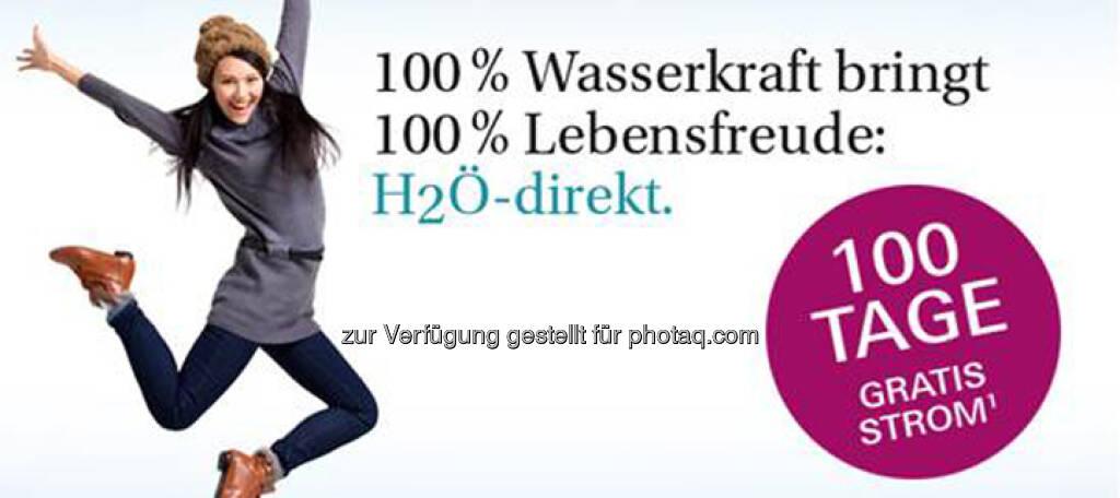 Verbund bewirbt H2Ö - die Wasserkraft (07.02.2013)