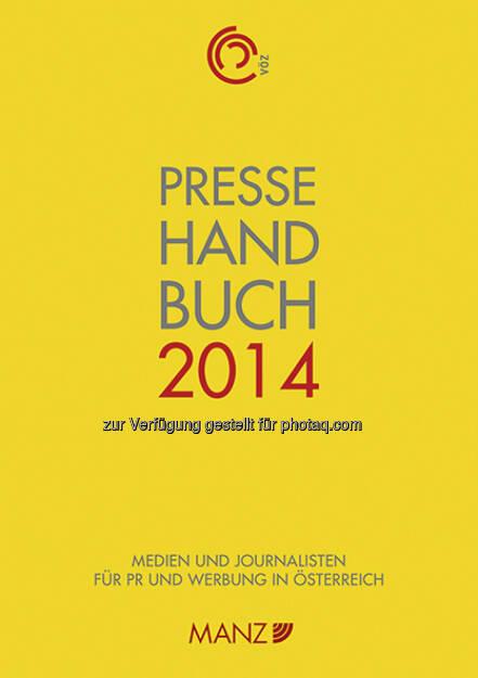 Manz'sche Verlags- und Universitätsbuchhandlung GmbH: Pressehandbuch 2014 ab sofort zum halben Preis (25.11.2014)