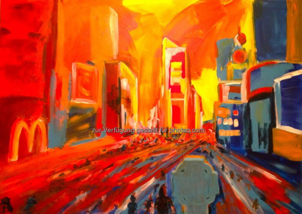 Chris Delias: Österreichischer Künstler Chris Delias bei Miami Art Week vertreten, © Aussendung (26.11.2014)
