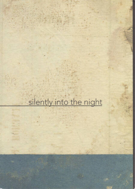 Katrien de Blauwer - I do not want to disappear silently into the night, Avarie 2014, Cover - http://josefchladek.com/book/katrien_de_blauwer_-_i_do_not_want_to_disappear_silently_into_the_night, © (c) josefchladek.com (26.11.2014)