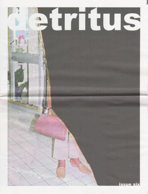 David O'Mara - detritus issue six, Self published 2014, Cover - http://josefchladek.com/book/david_omara_-_detritus_issue_six, © (c) josefchladek.com (27.11.2014)