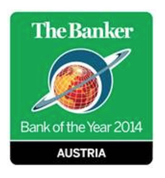Der renommierte The Banker zeichnet jährlich die besten Banken aus und Österreicher sind stets weit vorne. Hier wirkt es so als wäre Austria die Bank of the Year (Scherz). Denn für das Hypo-Geschick sollte es keine Auszeichnung geben (28.11.2014)