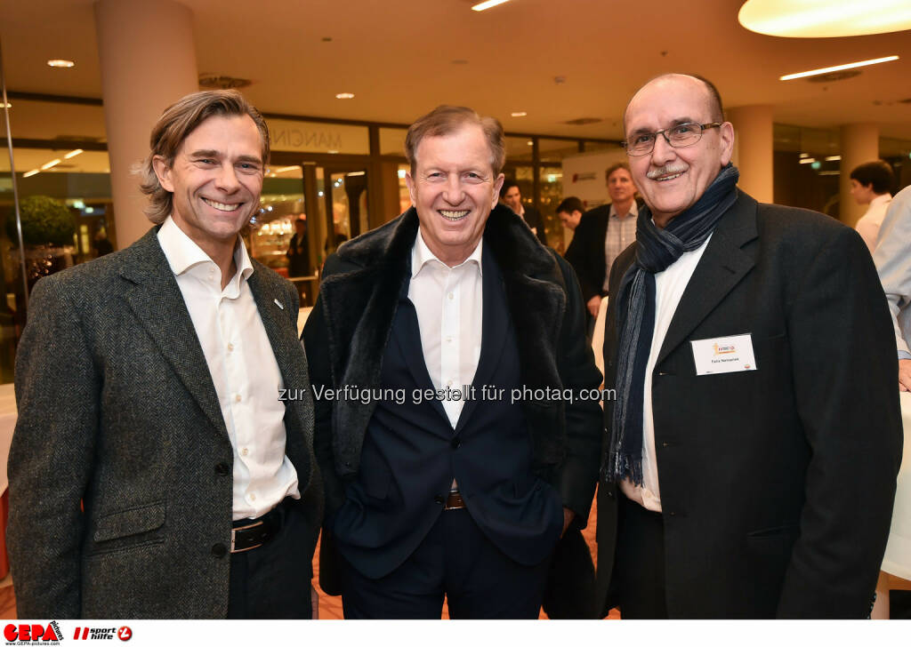 Christoph Schmoelzer, Herbert Kocher and Felix Netopilek. (Photo: GEPA pictures/ Martin Hoermandinger) (02.12.2014)