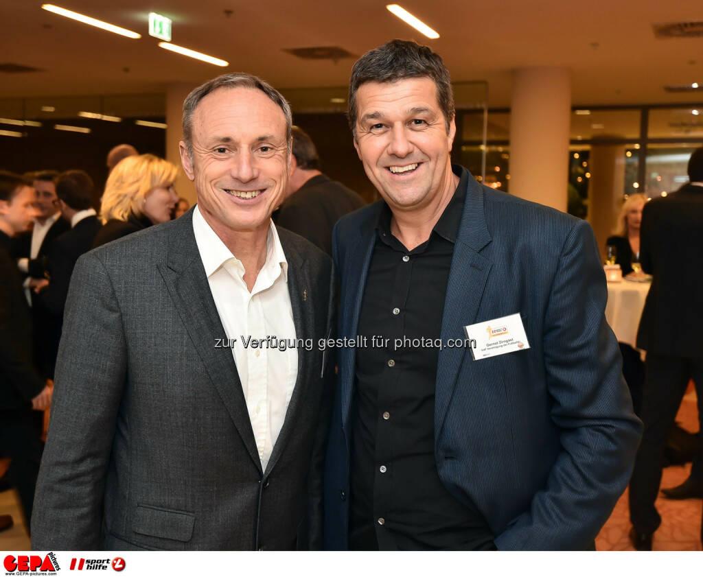 Anton Schutti und Gernot Zirngast. (Photo: GEPA pictures/ Martin Hoermandinger) (02.12.2014)