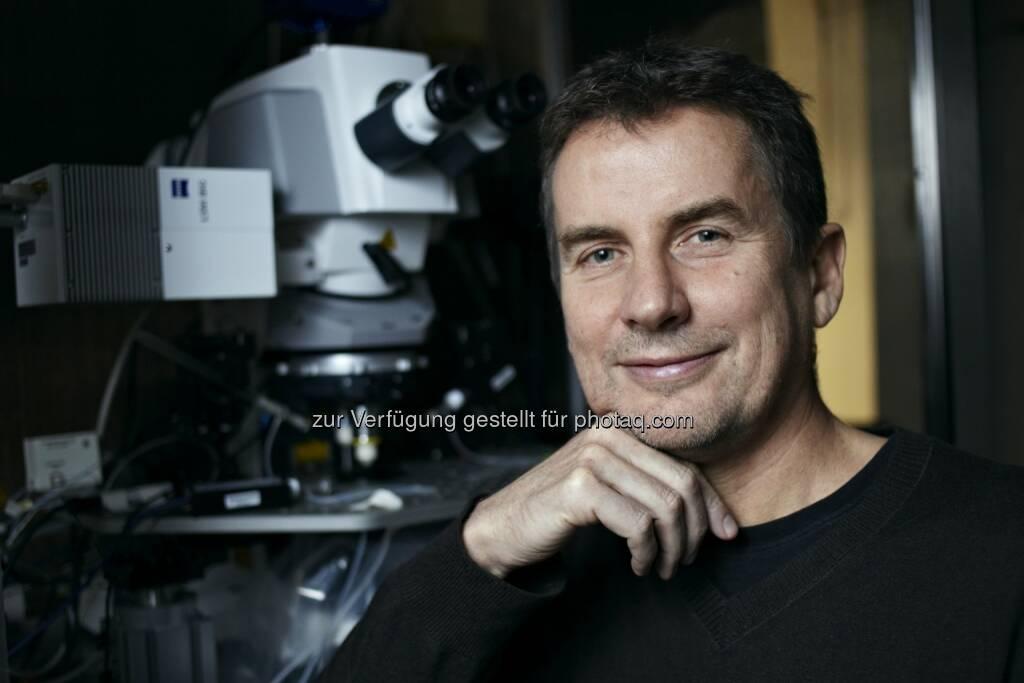 Bary Dickson, ehemaliger Direktor des Forschungsinstituts für Molekulare Pathologie (IMP): IMP Forschungsinstitut für Molekulare Pathologie: Preis der Stadt Wien an Barry Dickson und Josef Penninger, © Aussendung (03.12.2014)