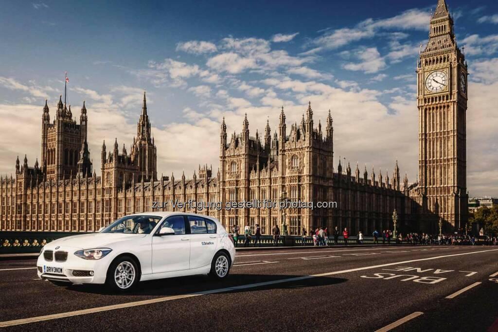 DriveNow kommt nach London – BMW i3 wird 2015 Teil der Flotte. Carsharing Angebot wächst weiter international. Rund 25 zusätzliche Standorte sind in Planung., © Aussendung (05.12.2014)