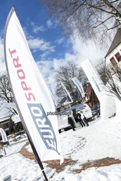 Eurosport und voestalpine in Schladming, © finanzmarktfoto.at/Martina Draper (09.02.2013)