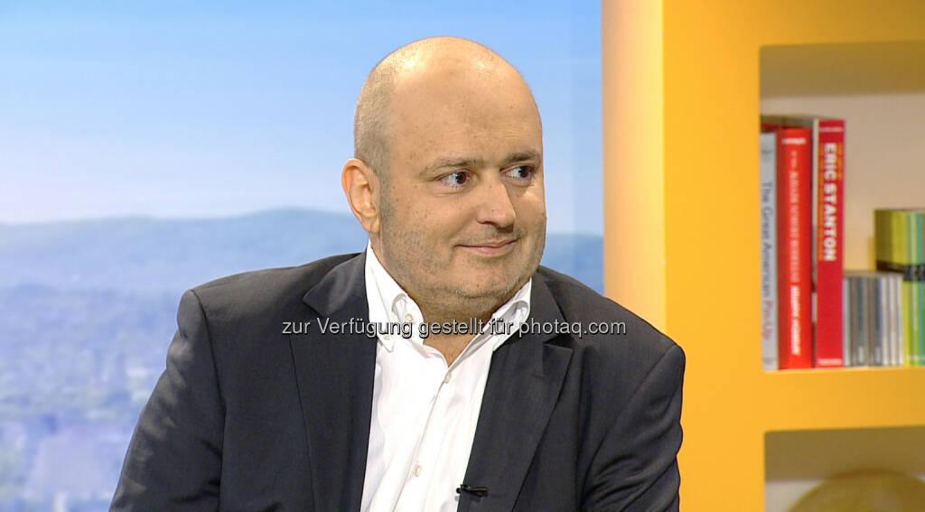 Kurt Kuch (Journalist) spricht über seine Krankheit - Menschen des Jahres 2014 in Café Puls (Bild: Puls4), © Aussender (05.12.2014)
