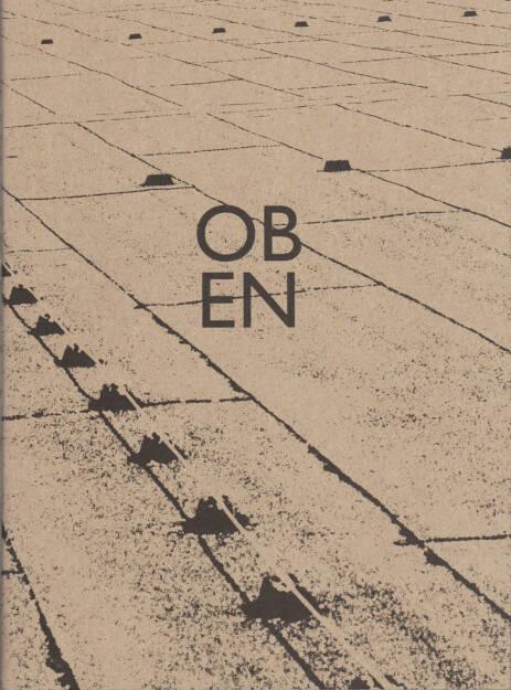 Diane Vincent - OBEN, Self published 2014, Cover - http://josefchladek.com/book/diane_vincent_-_oben, © (c) josefchladek.com (13.12.2014)