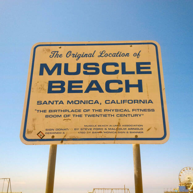 Muscle Beach, Santa Monica (Bild: bestevent.at) (13.12.2014)