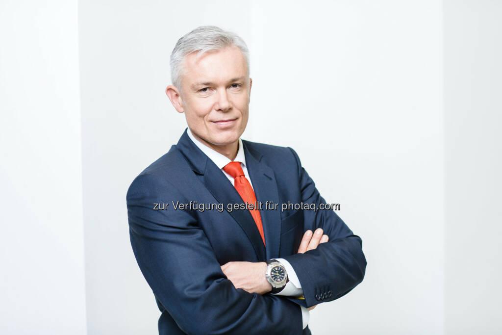 Robert Grüneis ist neuer Obmann des Fachverbandes Gas Wärme (FGW), © Aussender (15.12.2014)