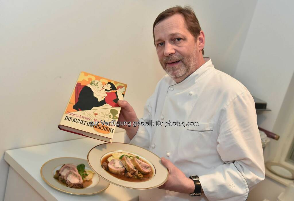 Christian Petz inszeniert Henri de Toulouse-Lautrec kulinarisch bei Artcurial Wien., © Aussender (15.12.2014)