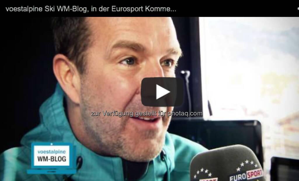 Eurosport-Kommentar Guido Heuber tippte für die Herren-Abfahrt auf .... http://voestalpine-wm-blog.at/2013/02/09/die-tipps-des-eurosport-kommentatoren/#.URZfzo7aK_Q, &copy; <a href=