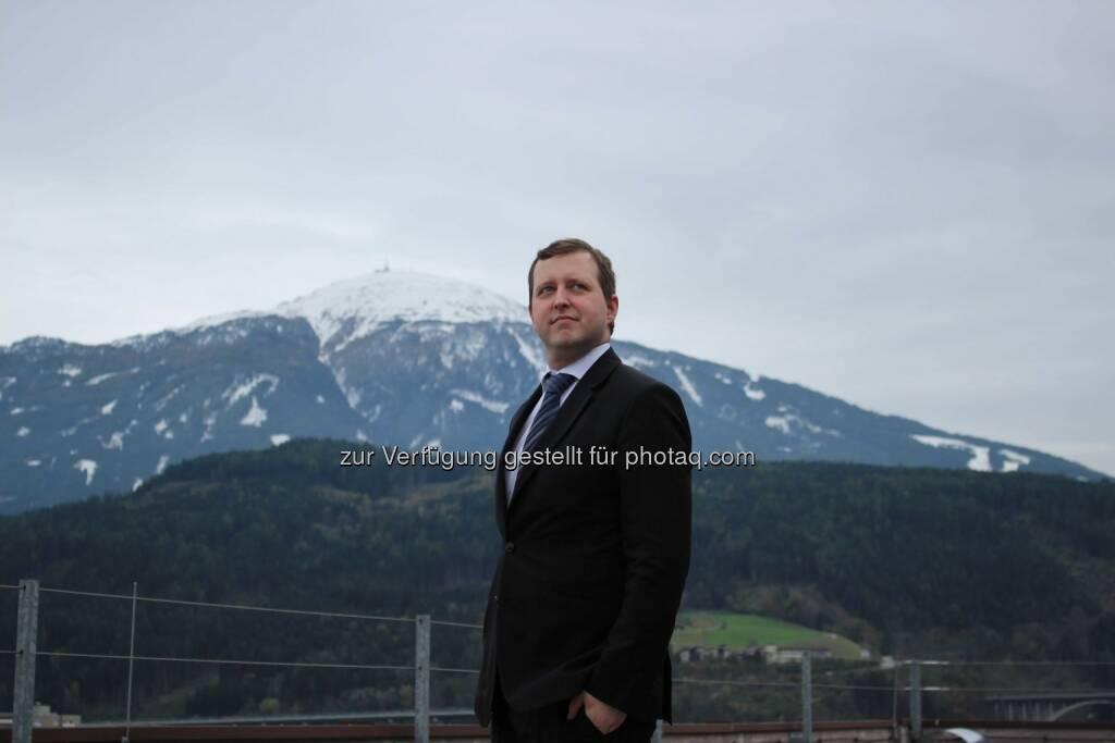 Andreas Steinberger ist neuer F&B Operations-Manager im Hilton Innsbruck., © Aussender (17.12.2014)