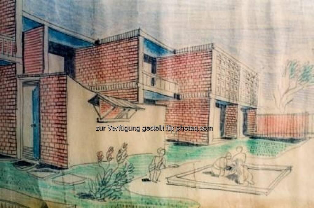 Chandigarh - Studienprojekt Wohnblock, Stadtverwaltung Chandigarh, © (VIG beigestellt) (09.02.2013)