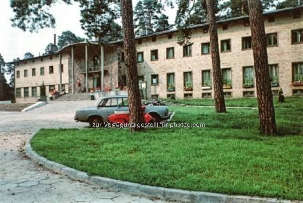 Hotel Augustów (PL), 1938 mit S. Sandecka, W. Stokowski, Foto: Tadeusz Barucki, Warschau, © (VIG beigestellt) (09.02.2013)