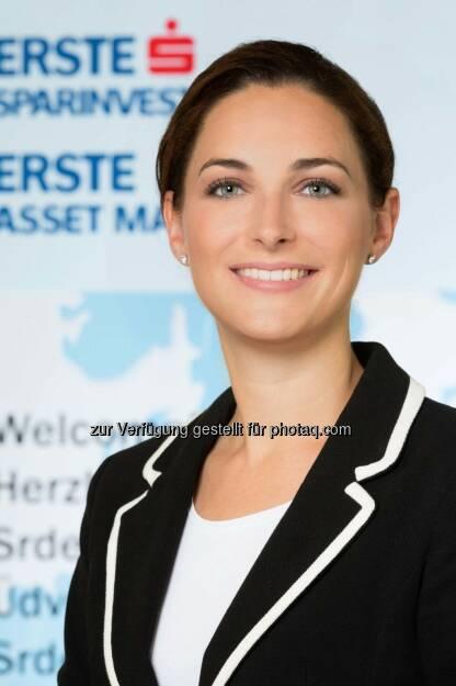 """Magdalena Arnezeder übernimmt die Leitung der Rechtsabteilung der Erste Asset Management und der Erste-Sparinvest (""""Legal Services"""")., © Aussender (23.12.2014)"""