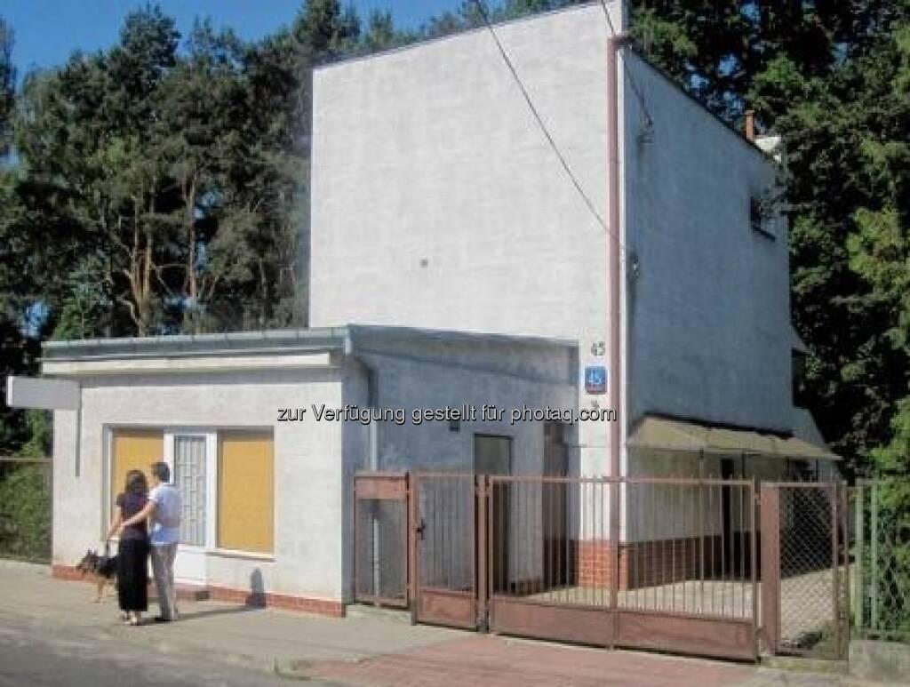Weißer Kubus, Haus für seine Eltern, Warschau, um 1934, Foto: Tadeusz Barucki, Warschau , © (VIG beigestellt) (09.02.2013)