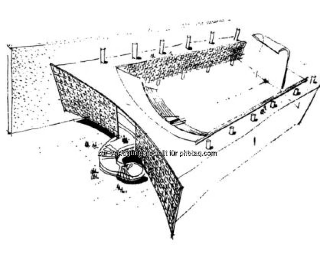 UN-Gebäude, New York, Vorschlag M. Nowicki, Architectural Record 1954, © (VIG beigestellt) (09.02.2013)