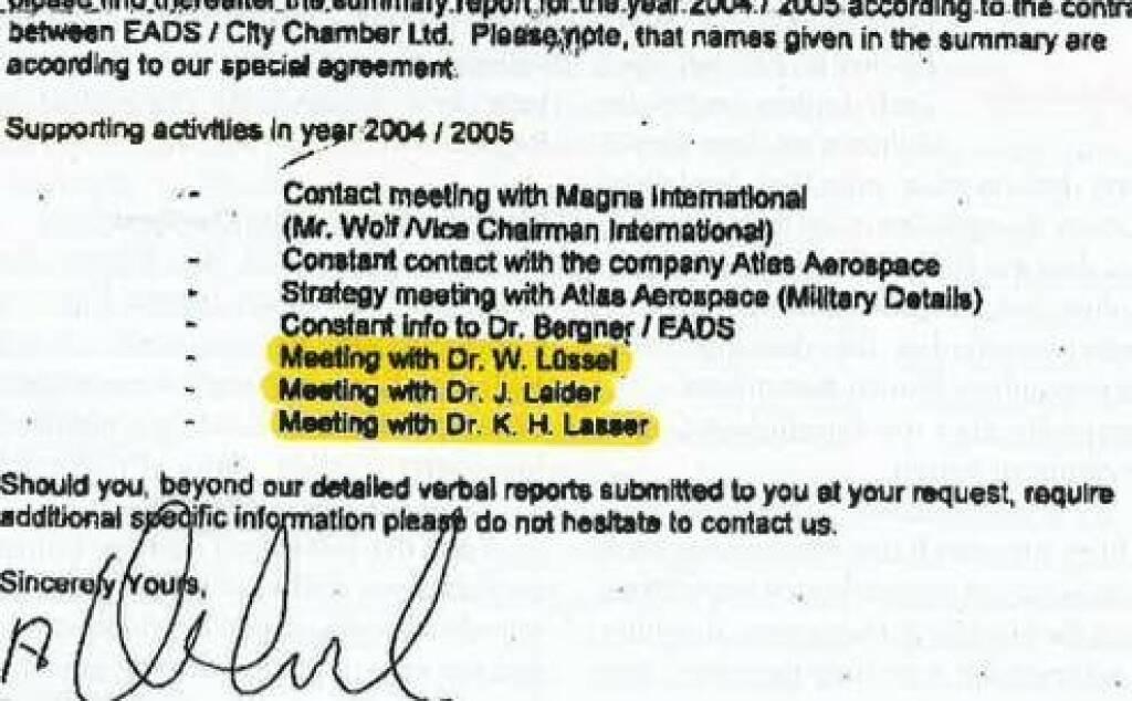 Kurt Kuch: Ich find heuer von meinen Storys die Lüssel, Lasser, Laider-Geschichte am besten. Die hat keiner vergessen. Aus dem Clifford-Chance-Gutachten. http://www.ots.at/presseaussendung/OTS_20140226_OTS0238/eurofighter-lobbyist-bekam-65-millionen-euro-ausschliesslich-fuer-haider-lobbying  (27.12.2014)
