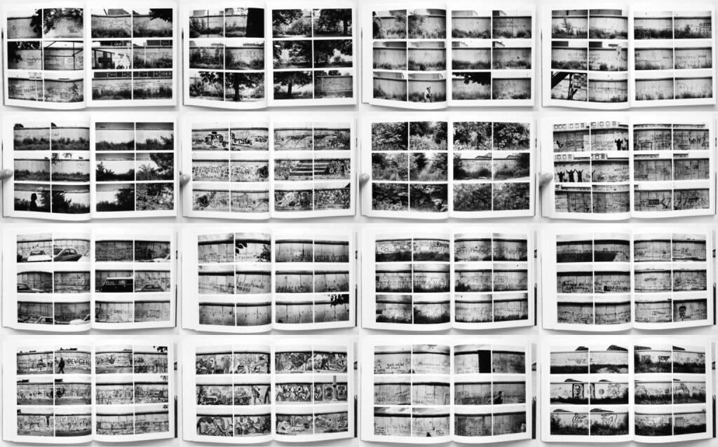 Philipp J. Bösel and Burkhard Maus - Die Berliner Mauer 1984 von Westen aus gesehen, White-Press/Verlag Kettler 2014, Beispielseiten, sample spreads - http://josefchladek.com/book/philipp_j_bosel_and_burkhard_maus_-_die_berliner_mauer_1984_von_westen_aus_gesehen, © (c) josefchladek.com (05.01.2015)