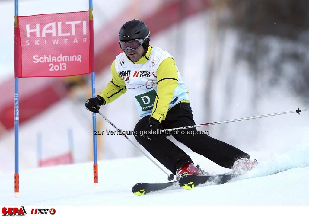 Steve Schennach (Team Deichmann). Foto: GEPA pictures/ Christian Walgram, © GEPA/Sporthilfe (10.02.2013)