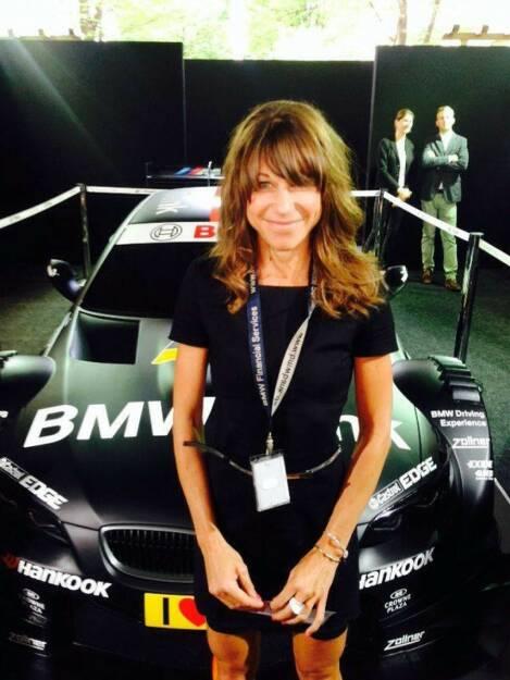 BMW: Isabelle Heers ist Bankerin, werkt für die BMW Bank, war das vor bei Raiffeisen (11.01.2015)