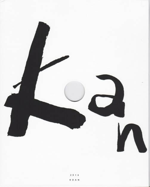 Xiaoyi Chen - Koan, PJB Editions 2014, Cover - http://josefchladek.com/book/xiaoyi_chen_-_koan, © (c) josefchladek.com (12.01.2015)