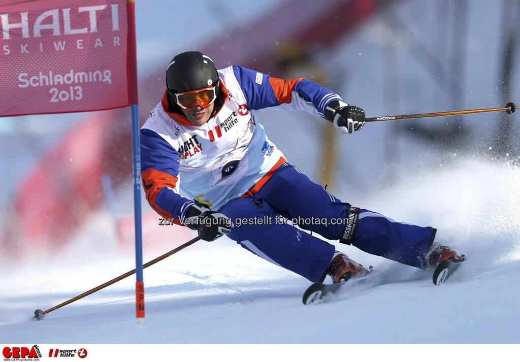 Jure Kosir (Team Ohlala). Foto: GEPA pictures/ Christian Walgram, © GEPA/Sporthilfe (10.02.2013)