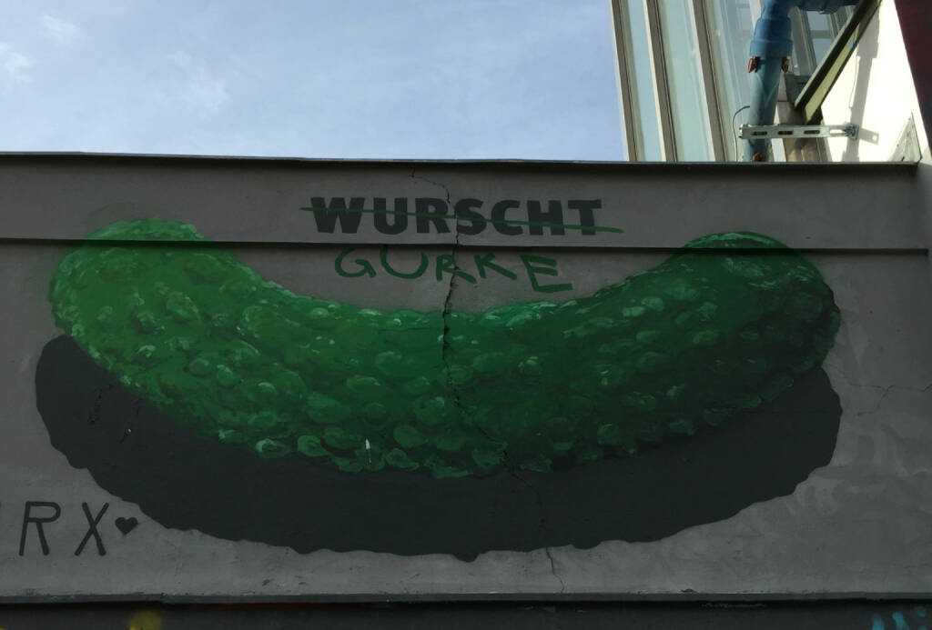 Wurscht Gurke Wurst (17.01.2015)