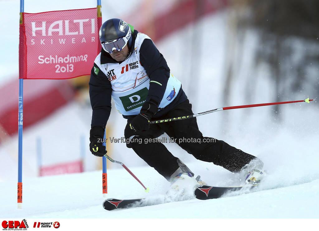 Alex Barblan (Team Deichmann). Foto: GEPA pictures/ Christian Walgram, © GEPA/Sporthilfe (10.02.2013)