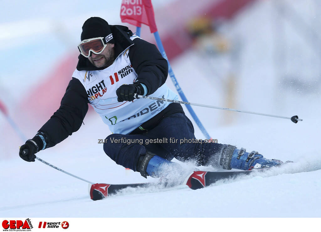 Kjetil Andre Aamodt (Team Tridem Sports). Foto: GEPA pictures/ Christian Walgram, © GEPA/Sporthilfe (10.02.2013)
